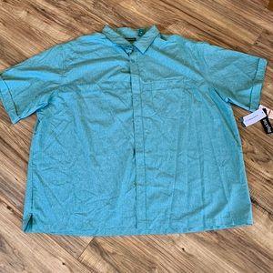 Cubavera Mens Big and tall panel shirt